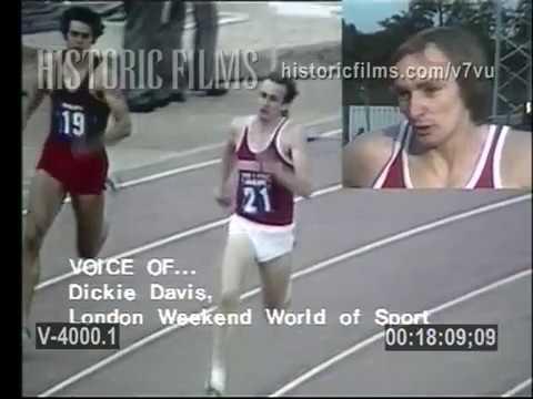 1975 Crystal Palace 400m hurdles featuring Ralph Mann & John Akii-Bua