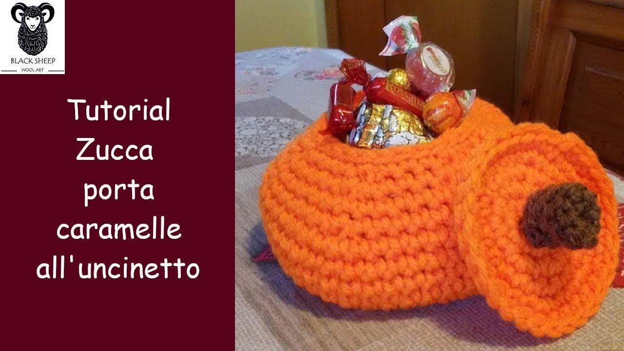 BOMBONIERA CARAMELLA (con schema) | Crochet gifts, Crochet disney ... | 720x1280
