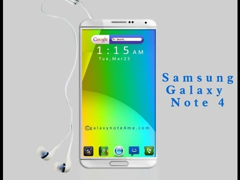 Samsung Galaxy Note 4 Official Video