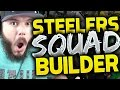 All-time Pittsburgh Steelers Squad Builders & Gameplay | Madden 16 Ultimate Team video