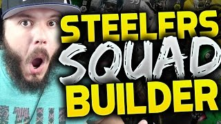 ALL-TIME PITTSBURGH STEELERS SQUAD BUILDERS & GAMEPLAY | MADDEN 16 ULTIMATE TEAM
