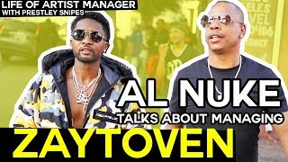 Al Nuke Talks Managing Super Producer Zaytoven [Life of Artist Manager]