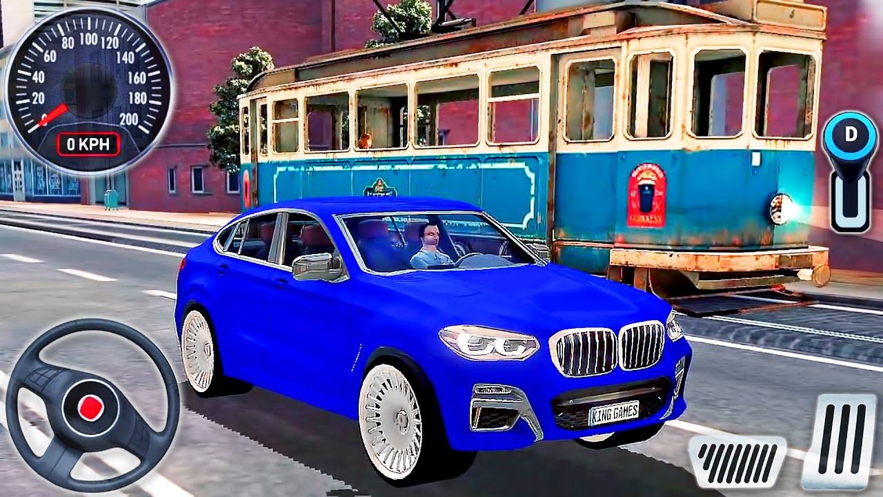 BMW X6 M Blue SUV City Driving Sydney Australia - Driving School Sim 2020 #8 - Android GamePlay
