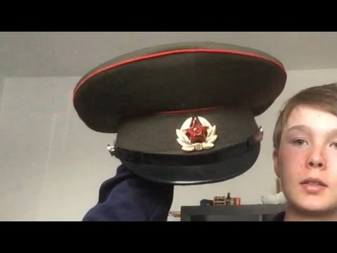 My Military Hat Collection!