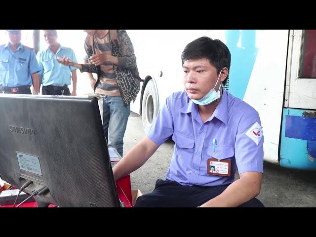 Thanh Tra Sở GTVT TP HCM Đang Đo Khí Thải Xe Buýt Và Xe Tải (Bác Tài Chú Ý)