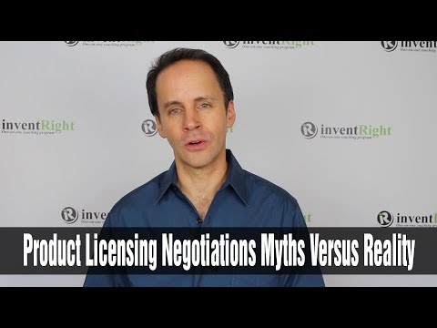Product Licensing Negotiations: Myths Versus Reality