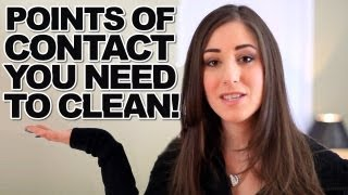 10 Points of Contact You Need To Clean! How to Clean Points of Contact (Clean My Space)