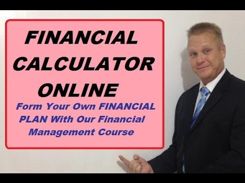Financial Calculator Online - Use Our Free Tool - YouTube
