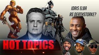 EggHeads Entertainment - Hot Topics! Endgame aftermath | He-Man | The New Batman? | Deathstroke?