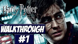 Harry Potter And The Deathly Hallows Part 1 - Walkthrough Ep.1 w/Angel - Long Time Coming!