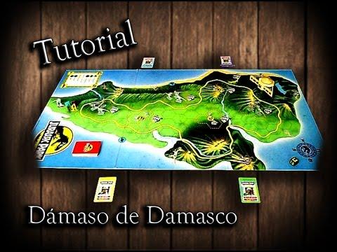 Tutorial Jurassic Park Juego De Mesa Espanol Juguemos 72 Youtube