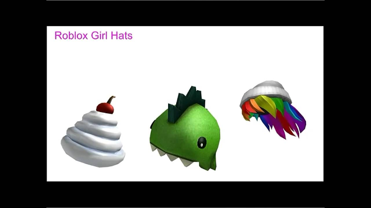 Roblox Hat Codes (Girls Only) - YouTube