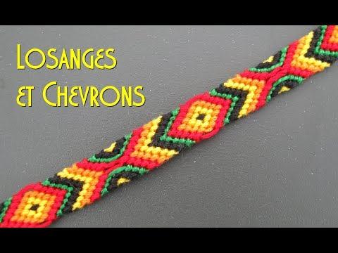 [TUTO] Bracelet Brésilien Losanges Et Chevrons (Intermédiaire)