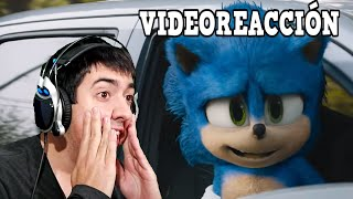 "VIDEOREACCIÓN 100% REAL (Trailer 2) ""Sonic Movie"""