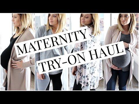 Maternity Fashion Try-On Haul Fashion Nova   Kendra Atkins
