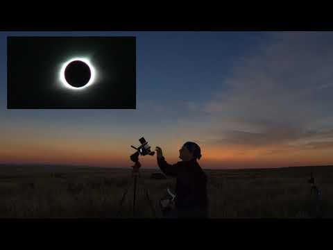 The quiet Eclipse (Total solar Eclipse Douglas, Wyoming 21.08.2017)