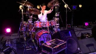 Casiopea3rd Sound Check Drum Solo@Ims Hall Fukuoka Japan カシオペア3rd 冬のツアー初日@福岡イムズホール 真剣にサウンドチェック
