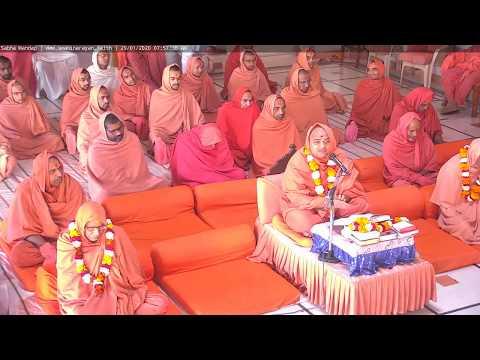 Bhuj Mandir Daily Katha - Morning On 29/01/2020