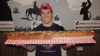 UNDEFEATED 3KG MONSTER CHILI DOG CHALLENGE!!