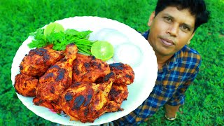 TANDOORI CHICKEN  Without Oven &amp Grill  ഓവൻ ഇലലത അടപള തനതര ചകകൻ  Simple &amp Easy recipe