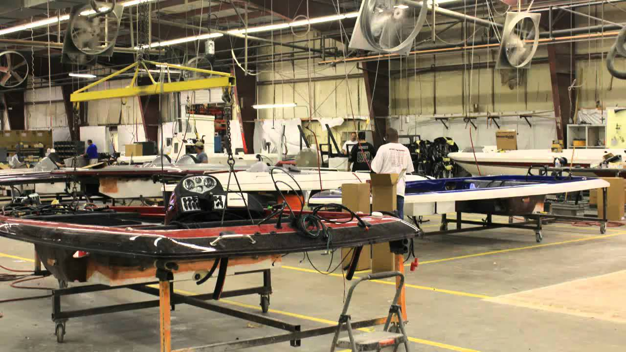 Skeeter Boat Factory Tour