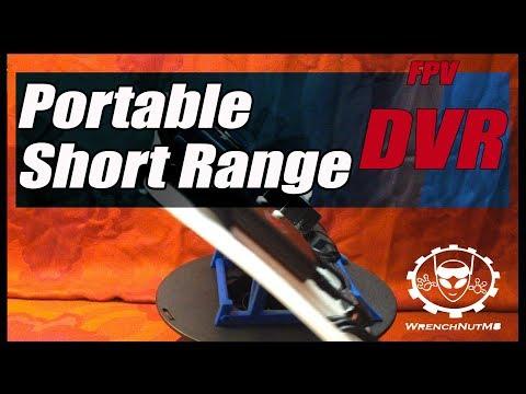 PORTABLE FPV HD DVR - For Short To Medium Range Recording