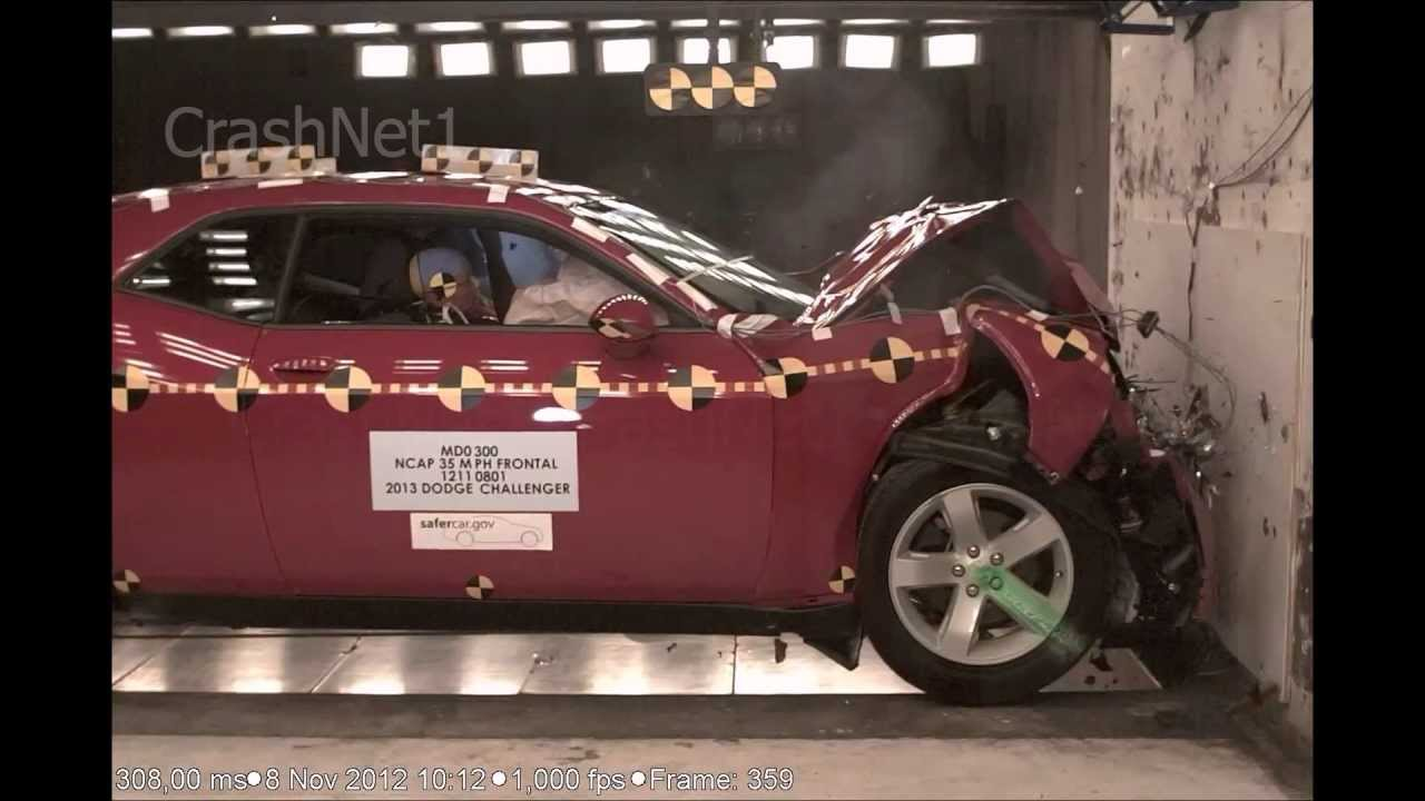 Dodge Challenger 2013 Frontal Crash Test Nhtsa