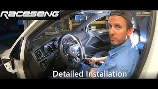 homepage tile video photo for 2018 VW GTI SE Ep.332: Detailed Installation Raceseng DSG Shift Knob