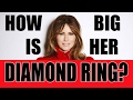 How Big is Melania Trump's Diamond Ring?