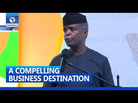 Kadinvest Is Marketing Nigeria As A Compelling Business Destination - Osinbajo