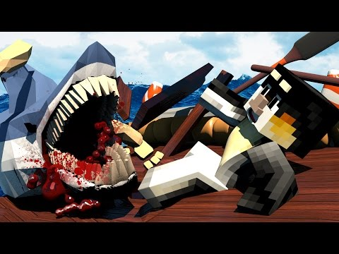 Jaws Movie 2 - The Return of Jaws and The Shark Attacks?! (Minecraft Roleplay) #1
