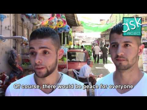 Palestinians: If the occupation ends, will there be peace?