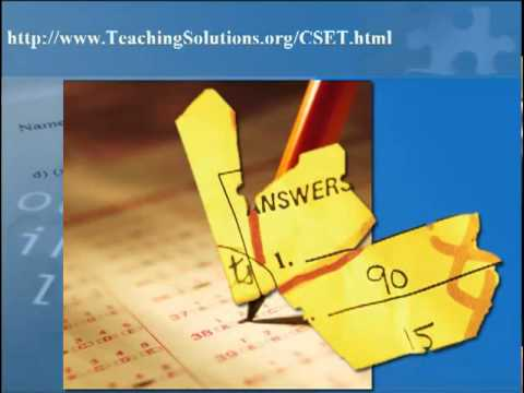 CSET Multiple Subjects Practice Test & Multiple Subjects