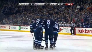 Zach Redmond 2-1 Goal vs Penguins [April 3 2014]