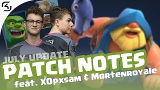 CANNON META? | PATCHNOTES JULY CLASH ROYALE | SK CLASH
