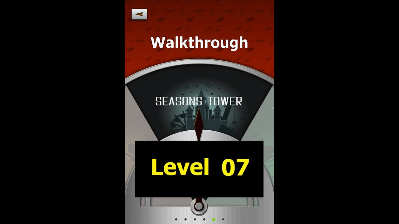 100 Floors Level 07 Seasons Tower Walkthrough Youtube