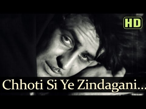 Chhoti Si Yeh Zindagani - Raj Kapoor - Aah - Mukesh - Shankar Jaikishan - Evergreen Hindi Songs