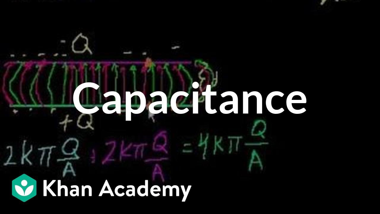 Capacitance Circuits Physics Khan Academy Youtube Circuit I Made To Help Me Study Capacitors As Well Experiment With