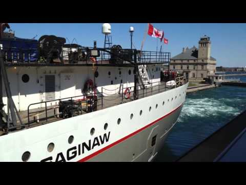 Great Lakes Freighter Saginaw