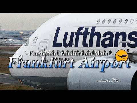 【4K】Special !! Ultra-HD 4Hour!! in Frankfurt Airport 2016 the Amazing Airport Spotting