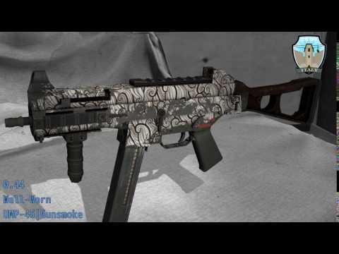UMP-45 Gunsmoke - Skin Wear Preview