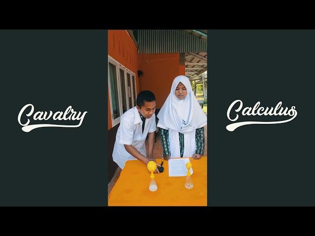 Praktikum Kimia - Laju Reaksi - Kelompok 3 - XI MS 3