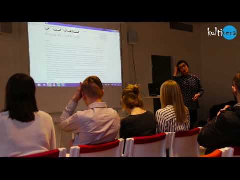 Young Writers Lab Seminar at SmåLit 2017
