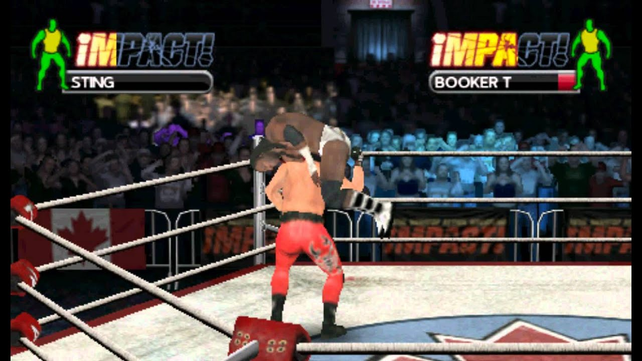 Tna Impact Cross The Line Psp Gameplay Hd Download Link