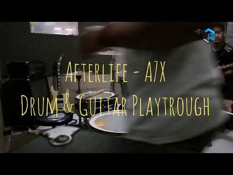 afterlife---a7x-||-juni-andianto-&-ferdi-(drum-&-guitar-playtrough)