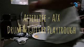 AFTERLIFE - A7X || Juni Andianto & Ferdi (Drum & Guitar Playtrough)
