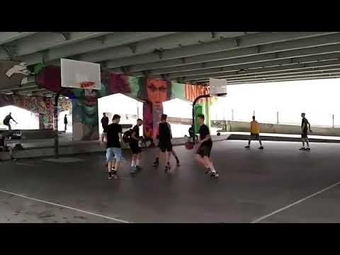Underpass Park Toronto Basketball Court Video Toronto Community