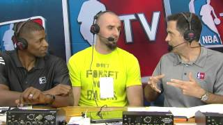 Marcin Gortat On Re Signing With the Wizards | July 05, 2014 | NBA