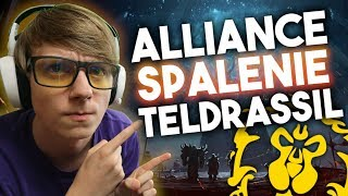 Spalenie Teldrassil Historia Alliance!