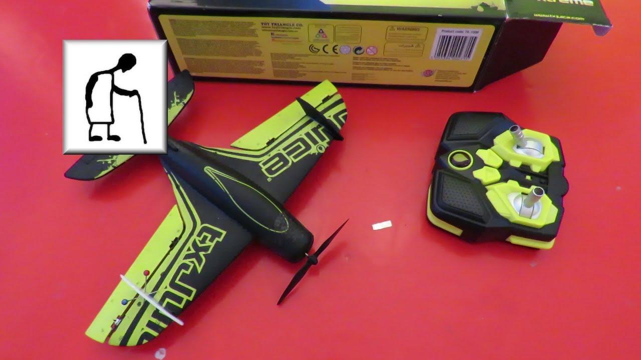 Home Bargains Txjuice Rc Stunt Plane Xtreme Part 6 Youtube